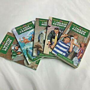 Sugar Creek Gang - Books 1, 3, 4, 5, 6 (Paul Hutchens, Revised Edition 1997)