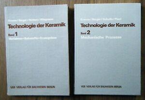 Krause / Berger ua Technologie der Keramik 1+2 Verfahren / Mechanische Prozesse