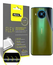 2x Schutzfolie für Nokia 8.3 Rückseite inkl. Rundung 3D Full Cover Flex Folie