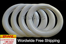 "universal Wheel R15"" WIDE White Wall Port a walls insert trim set. ford chevy"