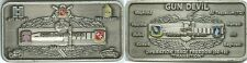 82ND Airborne Division - HHB 3-319th Airborne  (Silver) Challenge Coin