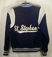 Vintage Wool Varisity Jacket. Royal Blue, size 38.  - St. Stephens CYO