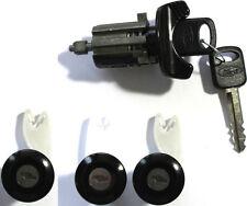 Ford Ignition Switch Lock Cylinder + 3 (Three) Door Lock Cylinders W/2 Logo Keys