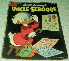 Walt Disney's Uncle Scrooge 28, Vg/Fn (5.0) Paul Bunyan Machine! 50% off Guide!