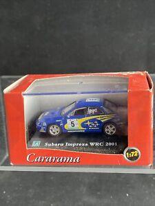 Subaru Impreza WRC 2001 1:72 Scale Die-cast Model Toy Car Hongwell Cararama