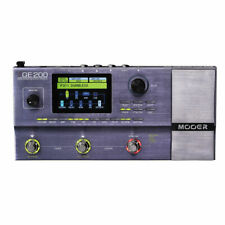 Mooer GE-200 Amp Modeling Electric Guitar Digital Multi-Effects Processor Pedal
