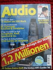 AUDIO 1/97,SPECTRAL DMC 20 MK2,LEVINSON 38 S,KRELL KRC HR,JADIS JP 80,JAMO J 28