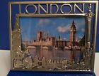 London Metal Photo Frame Big Ben, Tower Bridge British Souvenir Christmas Gift