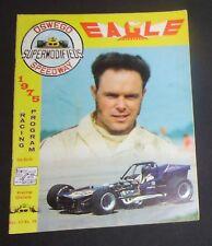 1975 Oswego Speedway Supermodified Program Kemp Dates