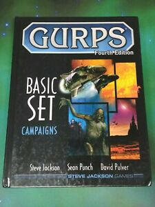 GURPS 4th Ed Basic Set Campaigns Hardcover