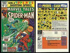 MARVEL TALES #120 SPIDER-MAN VF- (Marvel 1980)RP Amazing Spider-man #143 CYCLONE