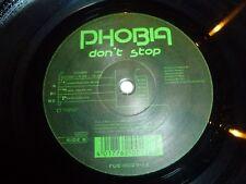 """PHOBIA - Don't stop - UK 3-track 12"""" Vinyl Single"""