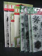 Inkadinkado Christmas Clear Rubber Stamp Sets - You Pick - Read Listing