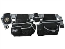 Raaco 760096 Professional Heavy Duty Padded Tool Belt 14 Pocket Pouch Holder