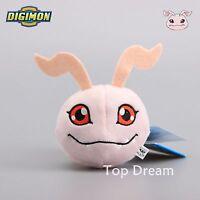 Digimon Adventure Yagami Taichi's Koromon Plush Toy Soft Doll 4'' Keychain Gift
