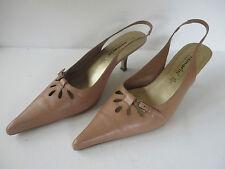 ANSEHEN # TAMARIS Riemchen  PUMPS  Gr 41 beige Sandalette Damen Schuhe Sandalen
