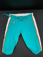 #48 MIAMI DOLPHINS NIKE GAME USED AQUA CURRENT STYLE PANTS 2019/2020 SEASON