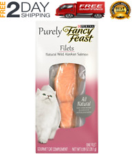 New listing Purina Fancy Feast Purely Filet Natural Alaskan Salmon, (10 Pack) 0.99 oz.