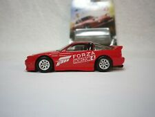 2019 Hot Wheels Forza Red 96 Nissan 180SX Type X Custom Real Riders