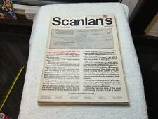 SCANLAN'S magazine Vol. 1 Number 1 1970 Hunter Thompson FIRST ISSUE
