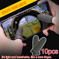 10pcs Finger Sleeves Prevent Slow Response Slipperiness Caused By Dry Gaming