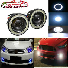 IMPORTED:Projector LED Fog Light/COB White Angel Eyes Rings-15W-FORD FIGO ASPIRE