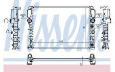 NISSENS Radiador, refrigeración del motor MERCEDES-BENZ CLASE E CLS 62792A