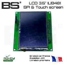 "Ecran 3.5"" large angle de vision haute resolution 480x320 SPI + RGB II9481"