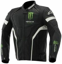 ALPINESTARS MONSTER SCREAM LEATHER JACKET TAGLIA S