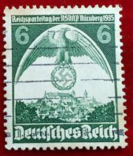6 Pfennig Deutsches Reich Reichsparteitag NSDAP Nürnberg 1935 MiNr. 586 (1D1)