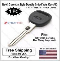 Double  Sided GM Vats Key #6 New /& Uncut Strattec Original GM Logo Key