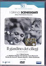 2 Dvd Serie del drama RaiI en GIARDINO DE CEREZOS con A. Pagnani completa 1967