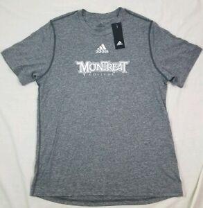 Montreat College Adidas T Shirt Christian Short Sleeve 2019 NC Large L Gray
