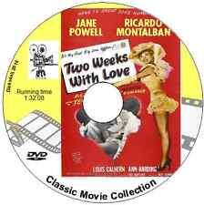 TWO WEEKS WITH LOVE  Jane Powell, Ricardo Montalbán, Debbie Reynolds DVD