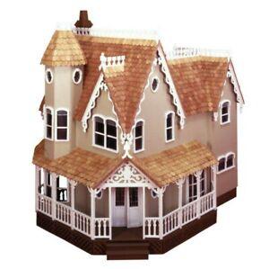 Vintage Pierce Dollhouse Kit Greenleaf Wooden Doll House Kit #8011