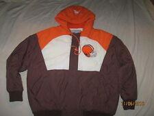 Cleveland Browns Vintage Jacket Parka Pro Line Apex One Mens XL Extra Large NFL