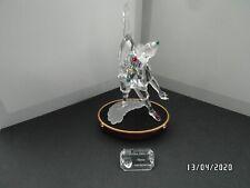 Swarovski Pierrot:  set met plaquette en display, Jaarstuk 1999