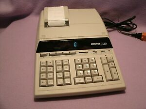 Monroe 7140 12-Digit 5.0 LPS Heavy Duty Printing Calculator