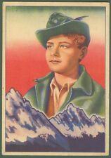 """CINEMA. FILM """"PICCOLO ALPINO"""". Cartolina viaggiata nel 1941."""