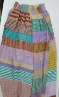 Gorman Long Gathered Patchwork Skirt Sz 6