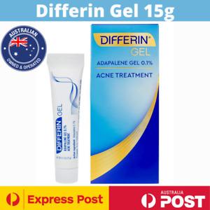 Differin 0.1% Adapalene Gel Maximum Strength Acne Treatment 15g NEW