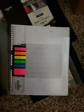 "Office Depot Stellar 3-Subject Spiral Notebook, 9"" x 11"", College-Ruled x5 pack"