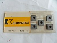 5 NEW KENNAMETAL 2556 3361 KC910 Carbide Turning Inserts Free US Shipping