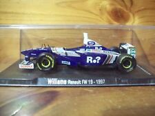 1/43 RBA MODELS WILLIAMS RENAULT FW19 JACQUES VILLENEUVE 1997 WORLD CHAMPION