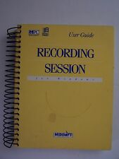 RECORDING SESSION + Music Mentor For Windows PC Paperback Ring Manual Only