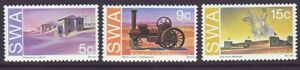 South West Africa 1975 SC 377-379 MNH Set Historic Monuments