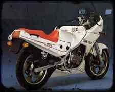 Gilera Kz 125 87 2 A4 Photo Print Motorbike Vintage Aged