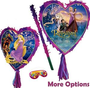 Rapunzel Pinata Smash Party Stick Lovely Princess Tangled long hair story UK New