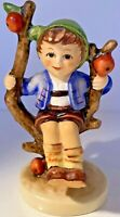 "Vintage 'Apple Tree Boy' Signed Goebel Hummel W. Germany 3.5"" Porcelain Figurine"