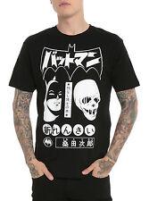 DC Comics Batmanga Batman & Lord Death Man T-Shirt, XS